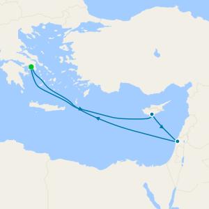 Méditerranée au départ de Le Pirée, Athènes