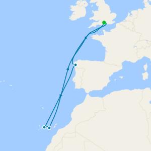 Méditerranée au départ de Southampton