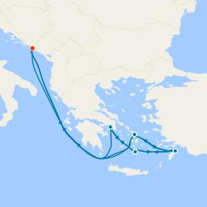Grèce au départ de Barcelone