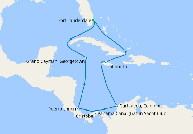 Panama Canal Location On World Map.Panama Canal With Costa Rica Caribbean 17 September 2018 12 Nt