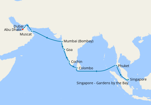 Best of India & Sri Lanka with Stays