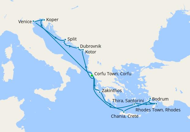 Iconic Islands & Adriatic Explorer