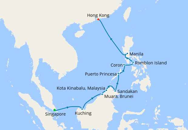 Asia In Luxury From Singapore To Hong Kong 18 January 2019 15 Nt Silver Shadow Silversea Cruises Iglucruise