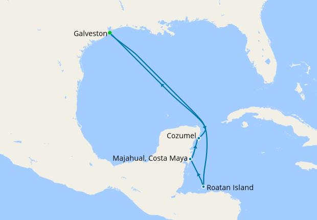 Cruise From Galveston 2020.Western Caribbean From Galveston Liberty Of The Seas 01