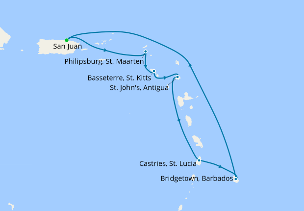 Southern Caribbean Cruise 2020.Southern Caribbean From San Juan Royal Caribbean 29th