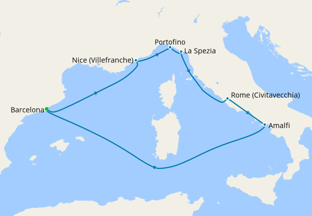 0b7120b35e Mediterranean from Barcelona