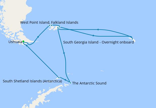 2020 World Cruises