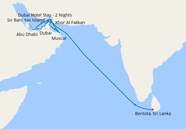 Sri Lanka & Dubai Stays with Emirates Explorer, 5 December ...