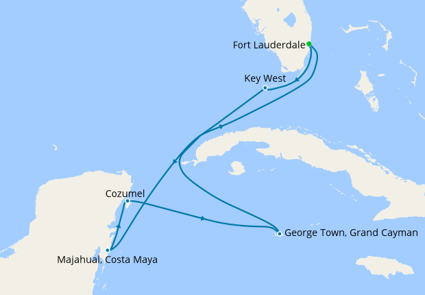 Western Caribbean from Ft Lauderdale, Celebrity Cruises