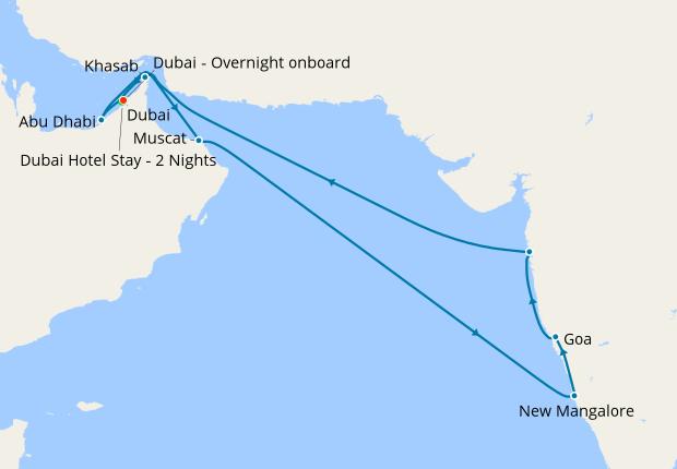 Dubai Stay, India & Emirates Explorer, 26 February 2019 | 17 Nt