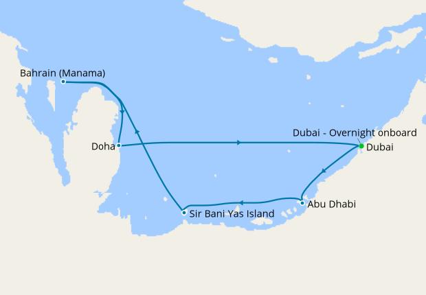 United Arab Emirates, Bahrain & Qatar from Dubai, 3 January