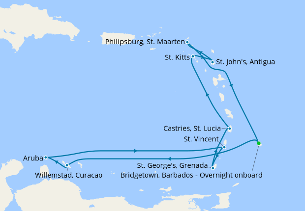 Christmas Cruises 2019.Caribbean Christmas New Year From Barbados 21 December