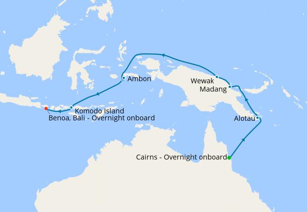Papua New Guinea Indonesian Islands 8 January 2020 16 Nt