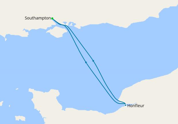Honfleur France Sampler From Southampton 20 December 2019 2 Nt