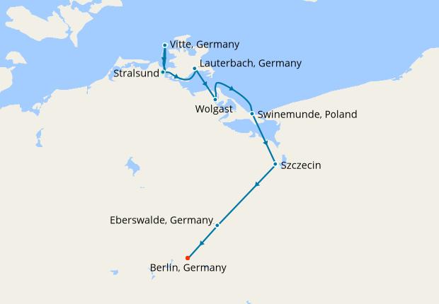 Passage Through Pomerania From Stralsund Ms Johannes Brahms 09