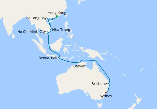 Asia Australia From Hong Kong 25 September 2019