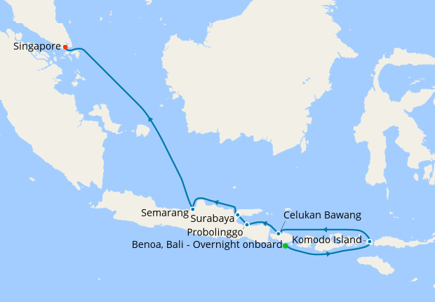 Gems Of The Java Sea From Bali 6 April 2020 12 Nt Seabourn