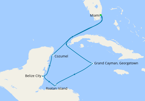 Western Caribbean from Miami, 29 September 2018 | 9 Nt ... on carnival breeze map, carnival port map, carnival victory map, carnival paradise map, splendour of the seas map, the majesty of seas map, carnival sunshine map, carnival inspiration map, jewel of the seas map, carnival dream map, carnival pride map, carnival miracle map, carnival splendor map, carnival freedom map, caribbean magic map, carnival liberty itinerary, carnival western caribbean map, carnival sensation map, carnival deck map, carnival elation map,