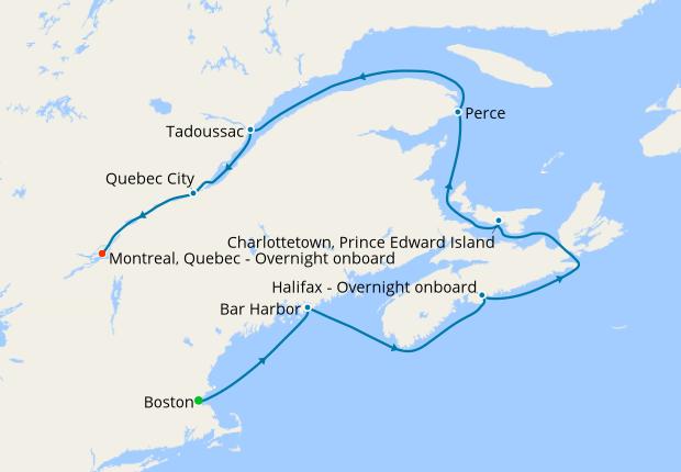 Luxury Canada & New England from Boston