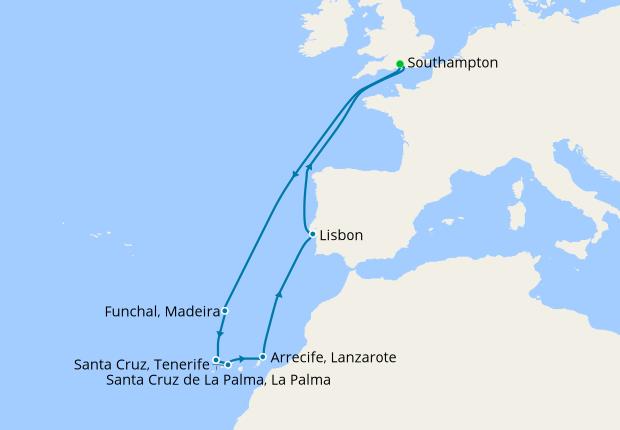 At Sea - 3 days
