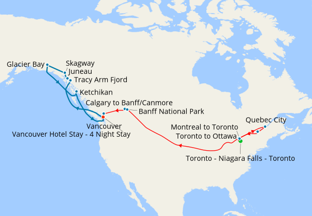 Calgary to Banff/Canmore