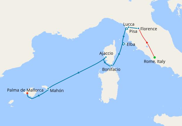 Cruising Renaissance Italy, Corsica & Historic Islands, 23 May 2019 ...