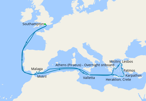 Tales of the Ancient Mediterranean from Southampton, 10 October 2020 ...