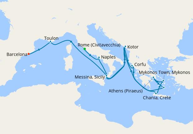 Adriatic Amp Aegean Medley From Rome 12 September 2020 14