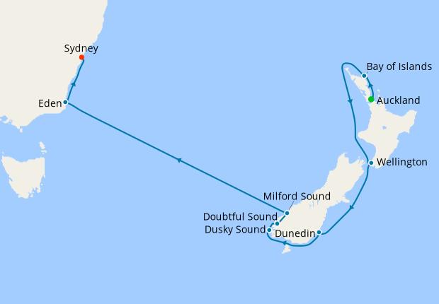 New Zealand Australia Auckland To Sydney 22 January 2021 14