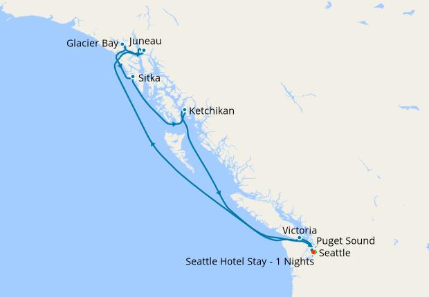 Seattle Hotel Stay - 1 Nights