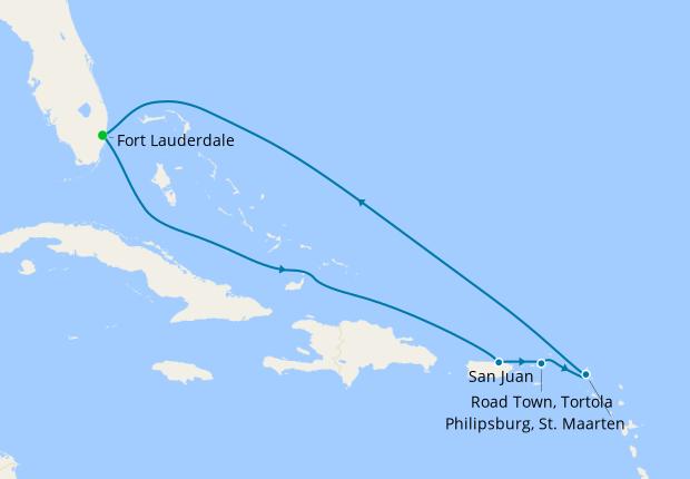 Celebrity Cruises 2020 Christmas Christmas Eastern Caribbean from Fort Lauderdale, 19 December 2020