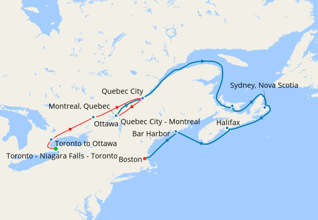 Eastern Canada Coach Tour New England Discovery 8 June