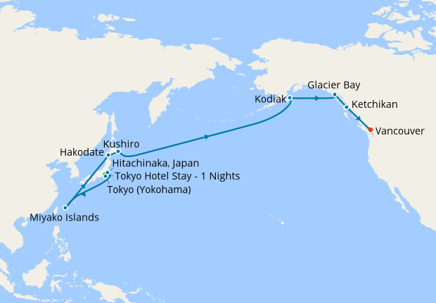 Itinerary Map