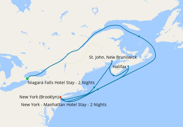 Niagara Falls Canada New England With Nyc Stays 27