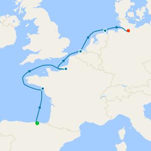 Bilbao to Hamburg