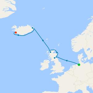 Bremerhaven to Reykjavik