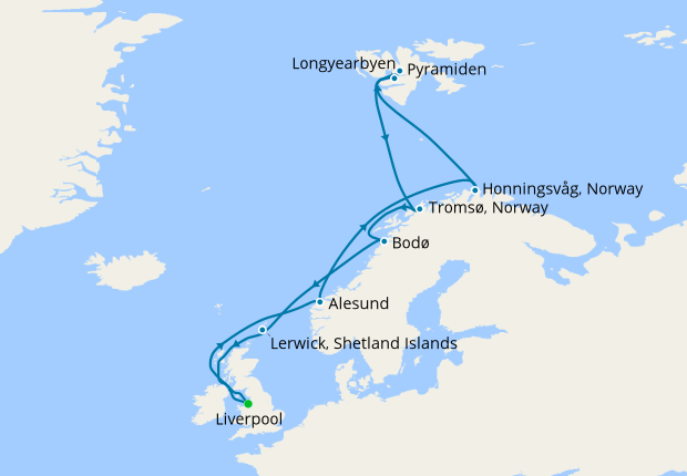 A Voyage to Remote Spitsbergen from Liverpool