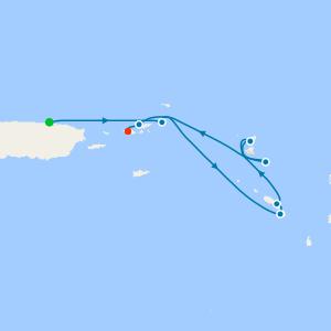 San Juan to Charlotte Amalie, St. Thomas