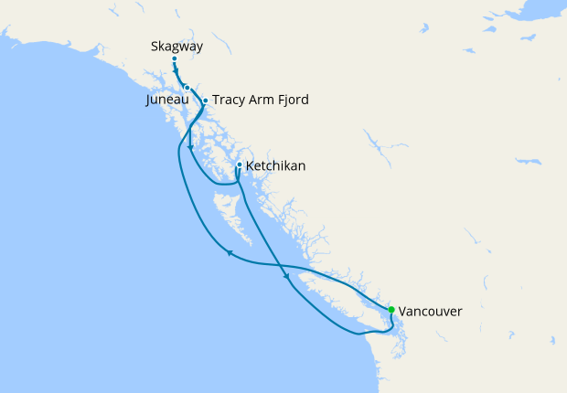 Alaskan Cruise with Vancouver Stay