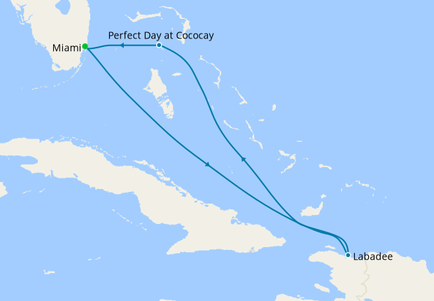 Eastern Caribbean & Perfect Day from Miami