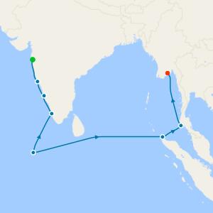 Indian Ocean Jewels from Mumbai to Myanmar
