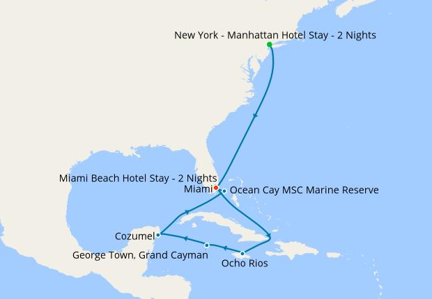 New York - Manhattan Hotel Stay - 2 Nights