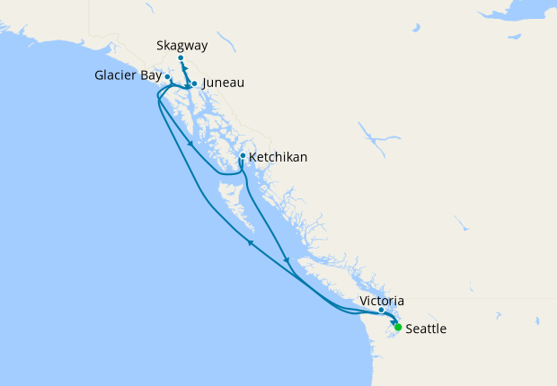 Alaska With Glacier Bay From Seattle 8 May 2021 9 Nt Norwegian Encore 08 May 2021 Norwegian Cruise Line Iglucruise