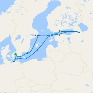 Scandinavia, Russia & Baltic from Copenhagen