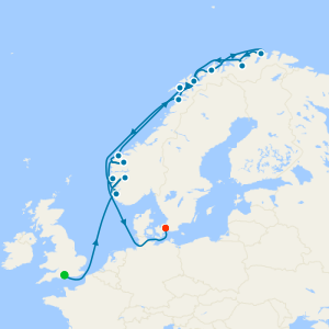 Norway Intensive & North Cape from Southampton