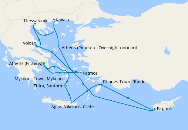 Greece Intensive Voyage from Athens
