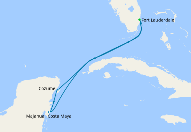 Western Caribbean from Ft. Lauderdale, 8 October 2019 | 7 Nt ... on world map with seas, world map including seas, european map with seas, greek seas, earth map with seas, france map seas, russia map with seas, oceans and seas, caspian sea map seas, map north, latin america map seas, greece map with seas, russian seas, europe map seas, world map showing seas, google map aegean seas, world map 7 seas, map south china sea china, mediterranean sea map and other surrounding seas, bering and chukchi seas,