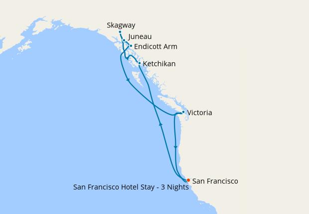 San Francisco Hotel Stay - 3 Nights