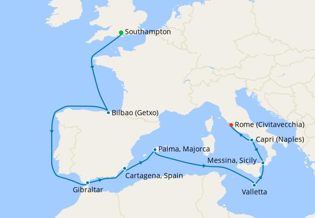 European Explorer from Southampton