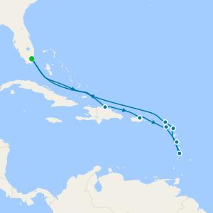 Serene Caribbean Sea - Miami Roundtrip